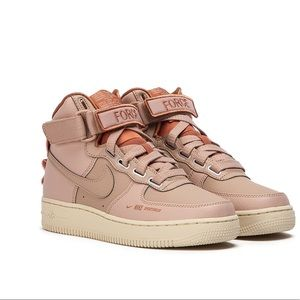 "NEW Nike Air Force 1 High ""Utility Pink"""